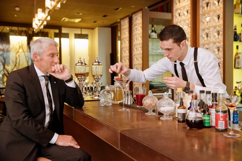 انتركوتيننتال جنيف - Bar Le Fumoir