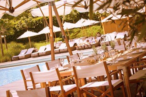 انتركوتيننتال جنيف - Restaurant Poolside and Lounge