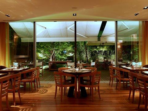 انتركوتيننتال جنيف - Restaurant Woods