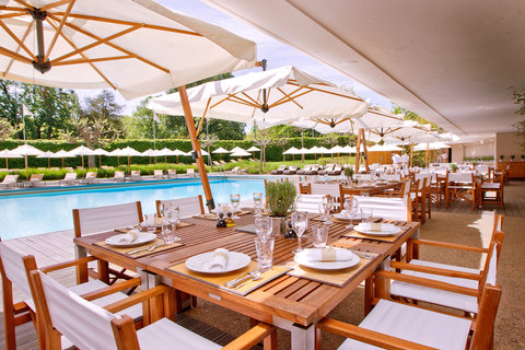 انتركوتيننتال جنيف - Poolside Restaurant and Lounge