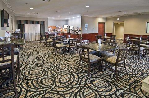 Holiday Inn Express Hotel & Suites Lake Charles - Breakfast Bar