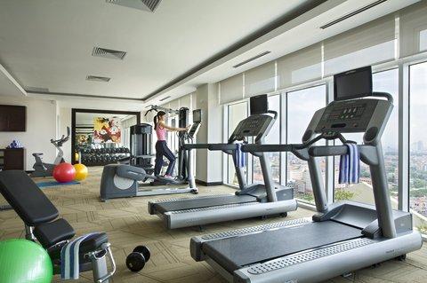 薩默塞特和平公寓式酒店 - Gym