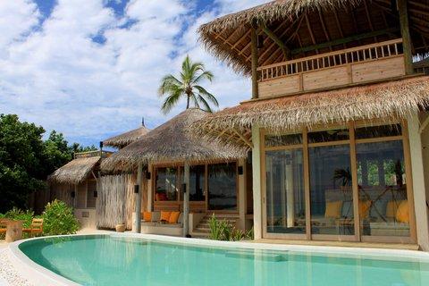 Six Senses Laamu - Two Bedroom Lagoon Beach Pool Villa