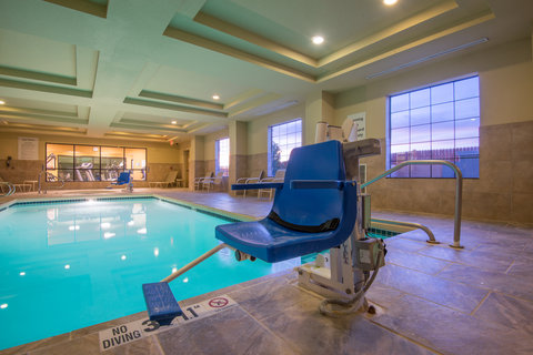 Holiday Inn Express Hotel & Suites Clovis - ADA Handicapped accessible Swimming Pool lift