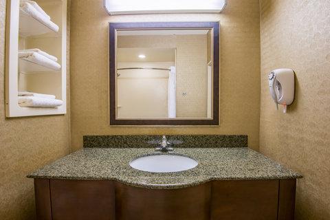 Holiday Inn Express Hotel & Suites Clovis - Standard Guest Bathroom vanity