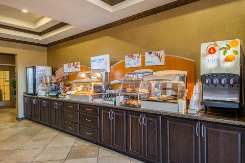 Holiday Inn Express Hotel & Suites Clovis - Breakfast Bar