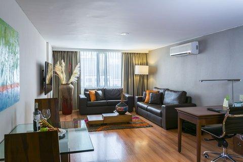 Bogota Plaza Summit Hotel - Business Suite Living Room