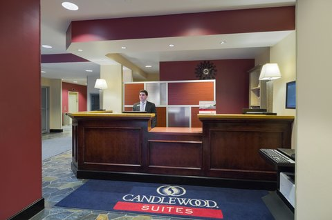 Candlewood Suites NEW YORK CITY- TIMES SQUARE - Front Desk