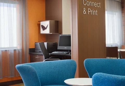 Fairfield Inn Longview Hotel - Business Center