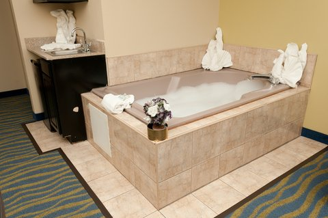 Holiday Inn Express & Suites BLOOMINGTON CITY CENTER-NORMAL - Jacuzzi Suite