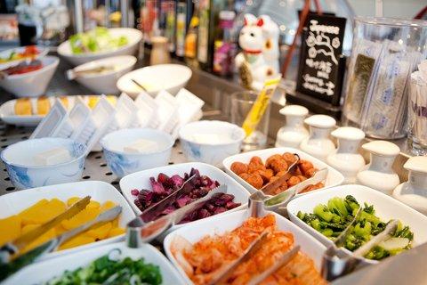Hotel Asahi - Breakfastbuffet