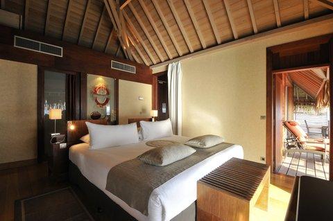Intercontinental Resort Tahiti - OVERWATER MOTU VILLA SUITE