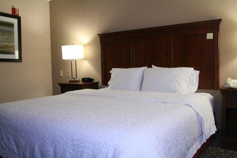 Hampton Inn Gainesville FL - King Suite Bedroom