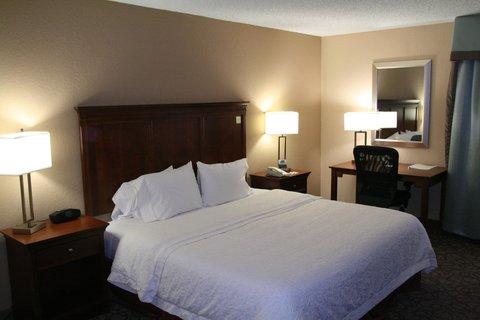 Hampton Inn Gainesville FL - Accessible King Bedroom