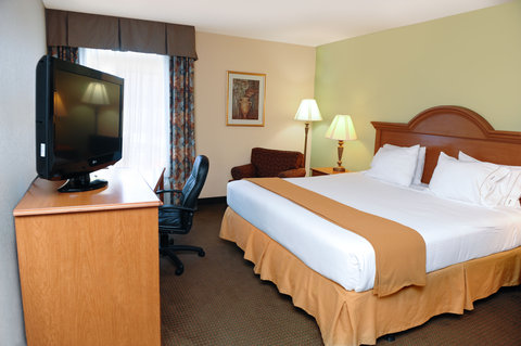 Holiday Inn Express & Suites FULTONDALE - King Bed Guest Room