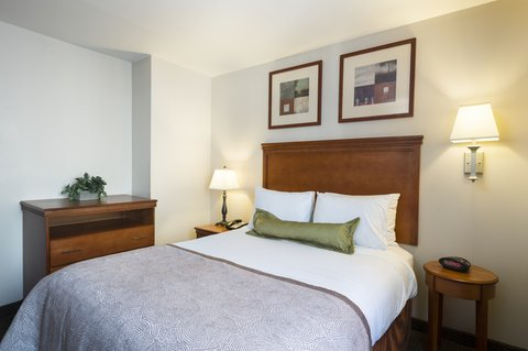 Candlewood Suites NEW YORK CITY- TIMES SQUARE - One Bedroom Suite Sleeping Area