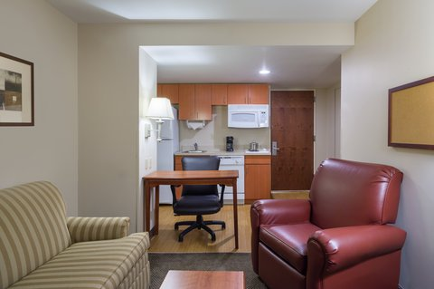Candlewood Suites NEW YORK CITY- TIMES SQUARE - One Bedroom Suite Living Area