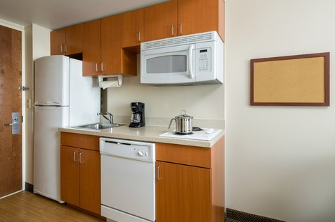 Candlewood Suites NEW YORK CITY- TIMES SQUARE - Queen Bed Studio Suite Kitchen