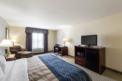 Comfort Inn & Suites Calallen - King guest room