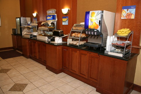 Holiday Inn Express & Suites DETROIT DOWNTOWN - Complimentary Full Breakfast is available from 6 30am to 9 30am