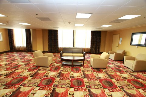 Holiday Inn Express & Suites DETROIT DOWNTOWN - Social Gathering Area and Entrance to Ballroom