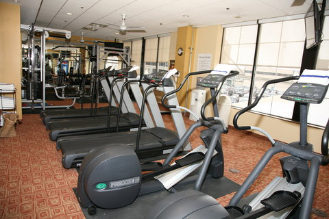 Holiday Inn Express & Suites DETROIT DOWNTOWN - The Fitness Center is Open to all Guests 24 Hours Every Day