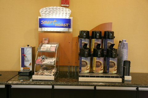 Holiday Inn Express & Suites DETROIT DOWNTOWN - Free Coffee is Available 24 hours  and Located near the Main Lobby