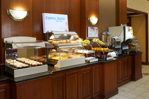 Holiday Inn Express & Suites DETROIT DOWNTOWN - Breakfast Bar