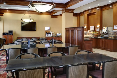 Holiday Inn Express & Suites DETROIT DOWNTOWN - Breakfast Area