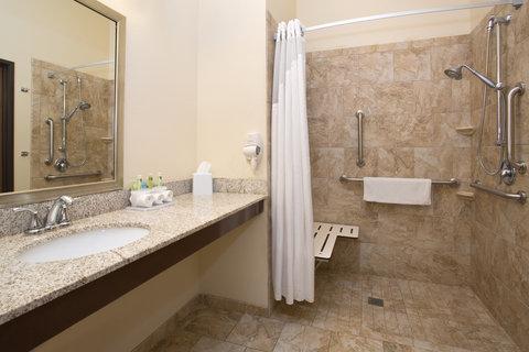 Holiday Inn Express & Suites GLENDIVE - Guest Bathroom