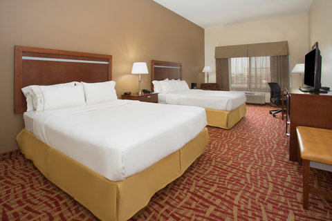 Holiday Inn Express & Suites GLENDIVE - Queen Bed Guest Room