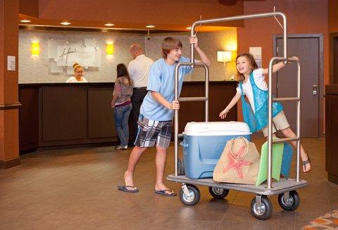 Holiday Inn Resort GALVESTON-ON THE BEACH - Resort Lobby