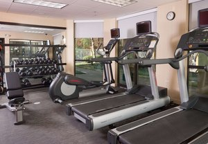 Fitness/ Exercise Room - Courtyard by Marriott Hotel Airport Greenville