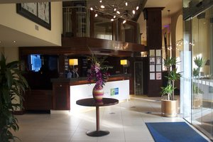 EDBPP Holiday Inn Express Edinburgh City Centre Front Desk