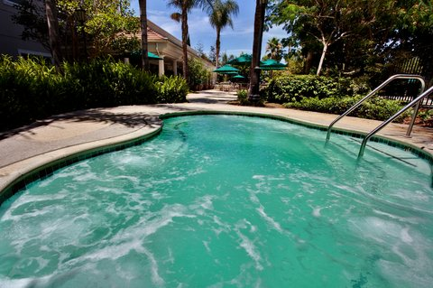 Holiday Inn Anaheim Resort - Let him grill dinner on the BBQ while you relax in the whirlpool