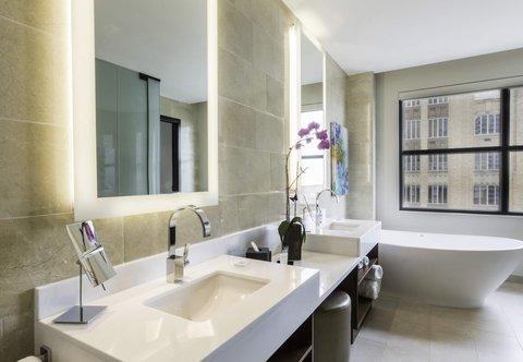 JW Marriott Houston Downtown - Presidential Suite - Bathroom