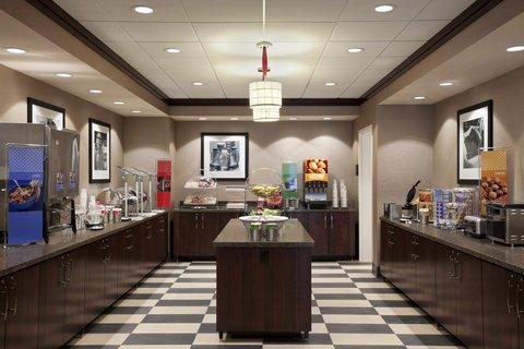 Hampton Inn and Suites Madison Downtown - Breakfast Area