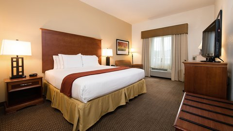Holiday Inn Express & Suites COLUMBIA-I-26 @ HARBISON BLVD - Spacious King Bed Guest Room