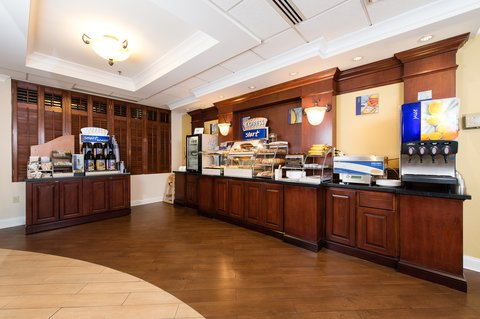 Holiday Inn Express & Suites COLUMBIA-I-26 @ HARBISON BLVD - Breakfast Bar - with all of your favorites
