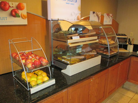 Holiday Inn Express & Suites CHICAGO WEST-ROSELLE - Breakfast Area