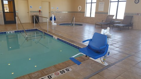 Holiday Inn Express & Suites Pocatello - Swimming Pool ADA Lift