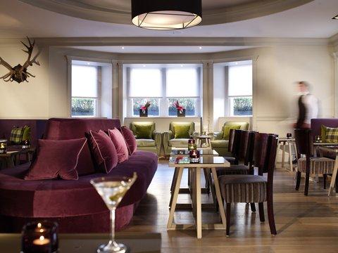 Rocco Forte Balmoral Hotel - The Balmoral Bar at The Balmoral