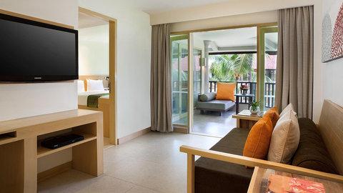 Holiday Inn Resort Baruna Bali - One Bedroom Suite view from Living Room