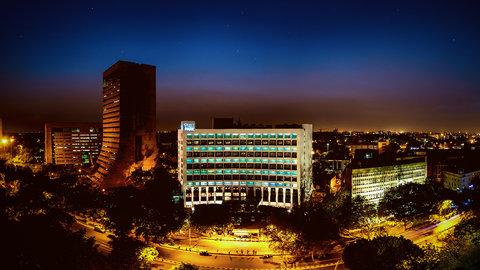新德里公园酒店 - Aerial View Of Hotel