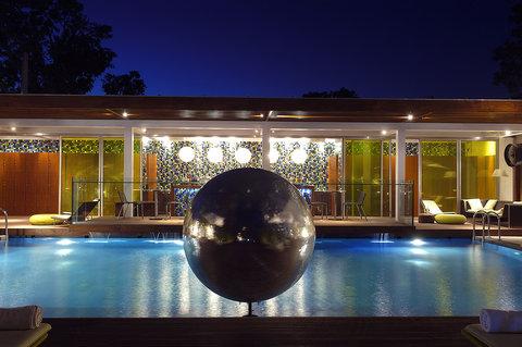 新德里公园酒店 - Aqua Lounge And Pool View