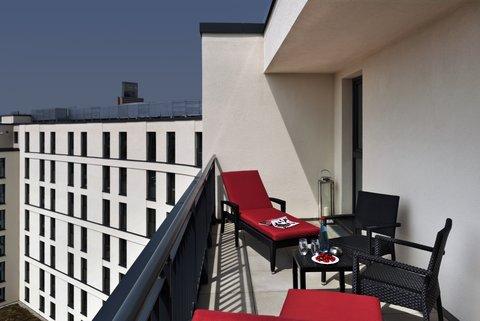 Citadines City Centre FRA - Balcony of studio deluxe  Citadines City Centre Frankfurt