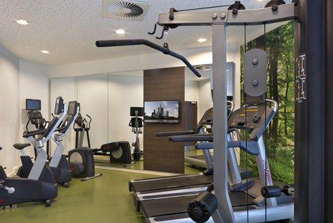 Citadines City Centre FRA - Fitness room  Citadines City Centre Frankfurt