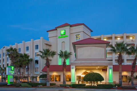 Holiday Inn Hotel And Suites Daytona Beach On The Ocean - Front Hotel Exterior during night Atlantic Ave view