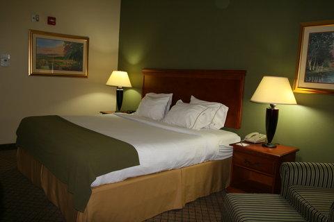 Holiday Inn Express & Suites GREENWOOD - King Bedroom  2