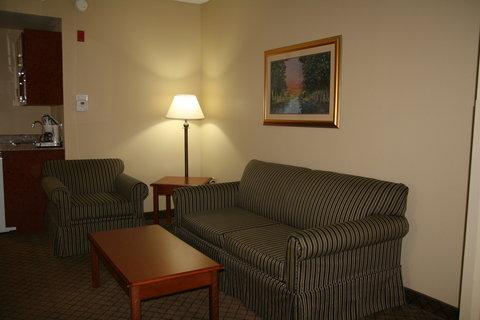 Holiday Inn Express & Suites GREENWOOD - King Mini-Suite Guestroom  3
